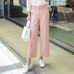 SALE Rachel Roy Blush Pink Odette Wide Leg Pants